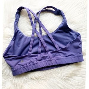 Lululemon Energy Bra Persian Purple